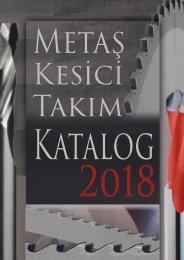 Metaş Kesici Takım Katalog 2018-1