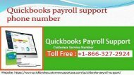 1-866-327-2924 QuickBooks Payroll Support Phone Number