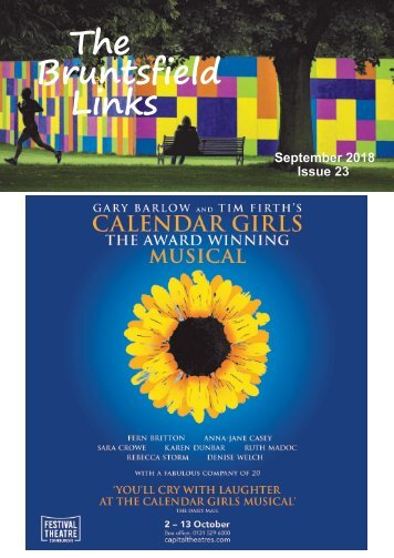 Sept18 Bruntsfield Links magazine