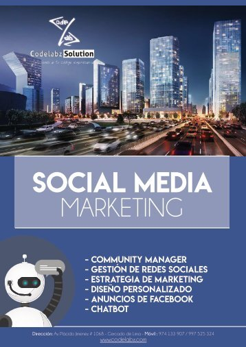 Brochure - Social Media Marketing