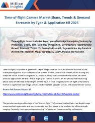 Time-of-flight Camera Market Share, Trends & Demand Forecasts by Type & Application till 2025