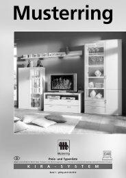 KIRA - SYSTEM Musterring - Möbel Rulfs