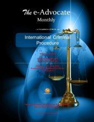 International Criminal Procedure