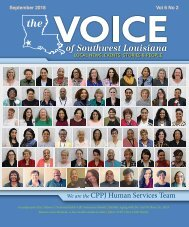 The Voice of Southwest Louisiana September 2018 Issue