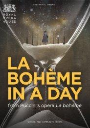 La bohème in a Day