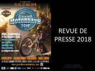 REVUE DE PRESSE MOTORDAYS 18