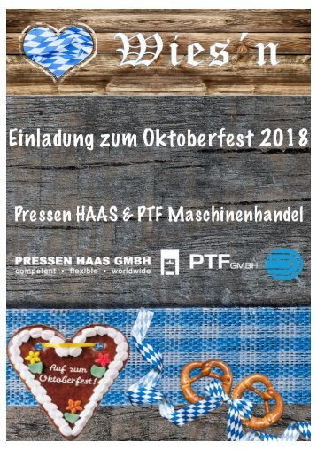 Oktoberfest-Einladung 2018