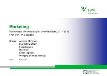 Marketing BWV - KGM job-training