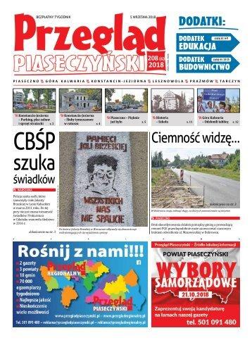 Przegląd Piaseczyński, wydanie 208
