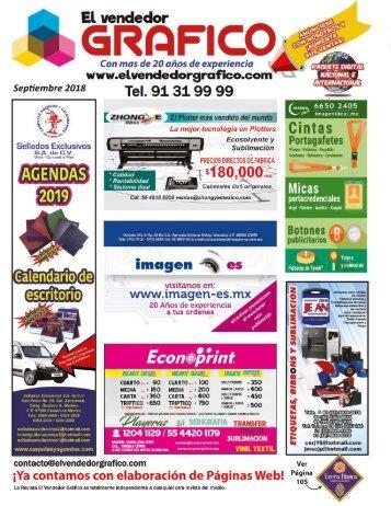 Revista El Vendedor Gráfico Septiembre 2018