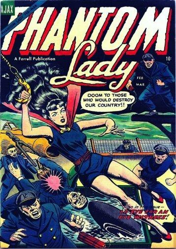PHANTOM LADY - N°2 - Febrero 1955