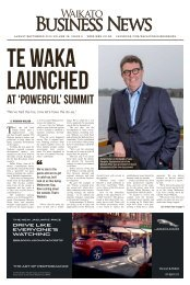 Waikato Business News August/September 2018
