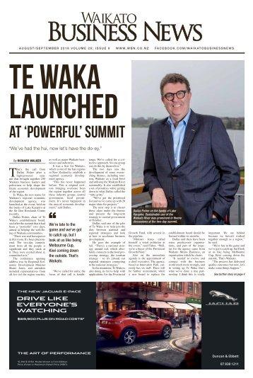 Waikato Business News August/September 2018