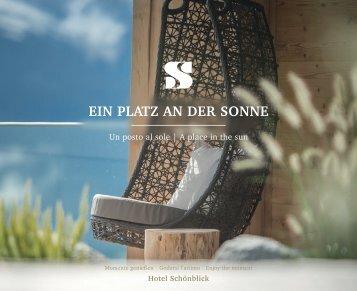 Prospekt Hotel Schönblick