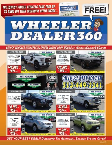 Wheeler Dealer 360 Issue 36, 2018