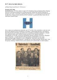 H 37 -rids af en klubs historie - Håndboldklubben 1937