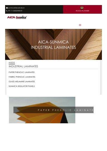Industrial Laminates Manufacturers Suppliers - AICA Sunmica