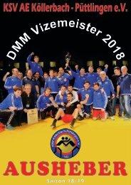 Ausheber KSV Köllerbach Saison 18/19