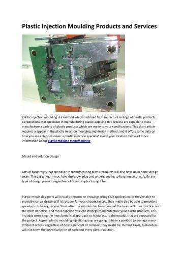6 automotive plastic injection molding