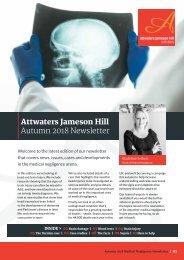 Attwaters - Med Neg newsletter Autumn