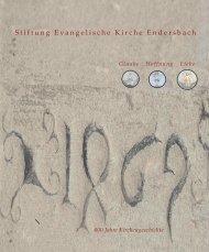 Stiftung Broschüre #37 Endformat 2010