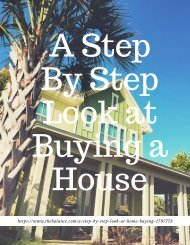 A Step By Step Look at Buying a House