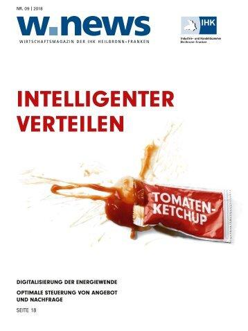 DIGITALISIERUNG DER ENERGIEWENDEN| w.news 09.2018
