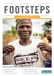 Footsteps 106: Sexual and gender-based violence