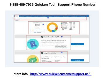 1-888-489-7936 Quicken Tech Support Phone Number