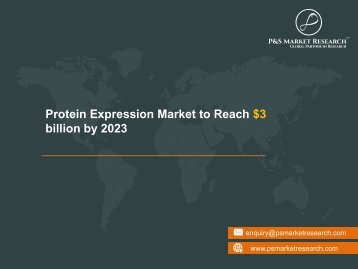 Protein Expression Market Research Report 2023