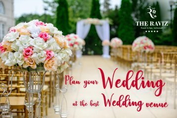 Plan your Wedding at the Best Wedding Venue