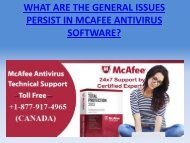 Issues In McAfee Antivirus Solved: Dial +1-877-917-4965