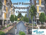 S and P Essense - Affordable Apartments for Sale in Chennai
