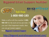 Hand Over Bigpond Error To at Email Support Number Via 1-800-980-183