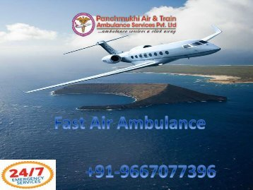 Cost-Effective Charter Aircraft Air Ambulance Service in Allahabad