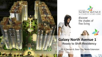 Galaxy Nort Avenue 1 Greater Noida West