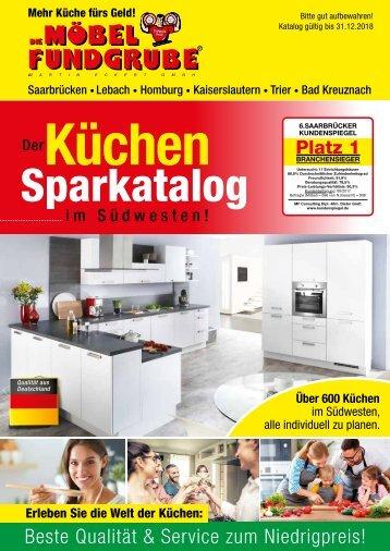 Die Möbelfundgrube - Küchen Sparkatalog