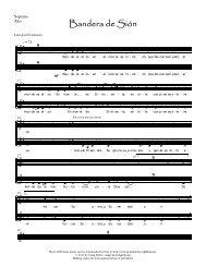 004 Bandera de sion - Soprano, Alto