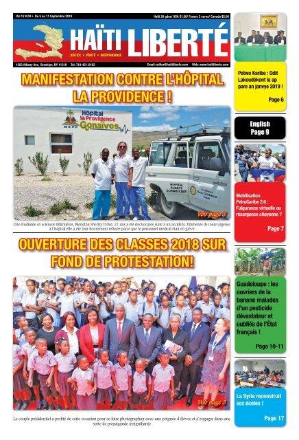 Haiti Liberte 5 Septembre 2018