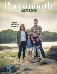 Portsmouth Living Magazine September 2018