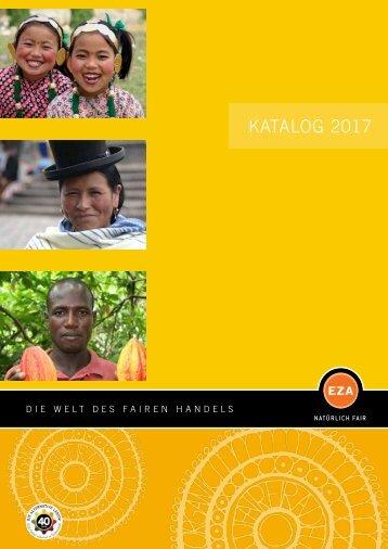 Weltladen Lebensmittelkatalog2017