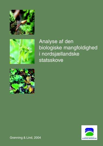 Analyse af den biologiske mangfoldighed i nordsjællandske ...
