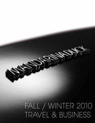 FALL / WINTER 2010 TRAVEL & BUSINESS