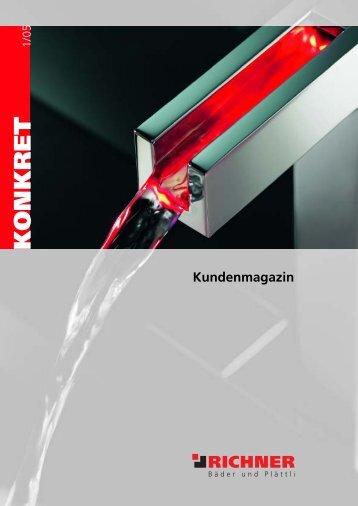 Kundenmagazin K O N KRET - Richner