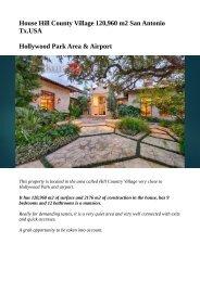 House Hill County Village_San Antonio Tx_USA