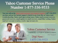 Yahoo Customer Service Phone Number 1-877-336-9533-converted