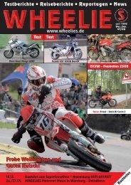 Modelle 2008 Tuning/Umbauten/ Trikes Showbühne - Wheelies