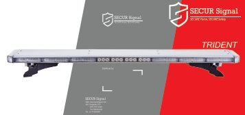 Secur Signal Trident Lightbar Brochure