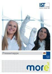 Pressemappe der IST METZ GmbH zur drupa