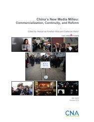 China's New Media Milieu: Commercialization, Continuity - CNA